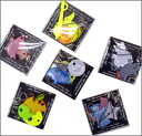 グリミス Glimmis reflector key chain strap assortment