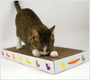 宠物宠物用品 猫类用品 保养用品 指甲刀·指甲磨光器 磨爪器(纸板型)