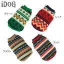 iDog IDOG ethnic style knit sweater [M flight 2 / 3]