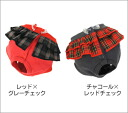 iDog eye dog check skirt relief underwear [M service half]