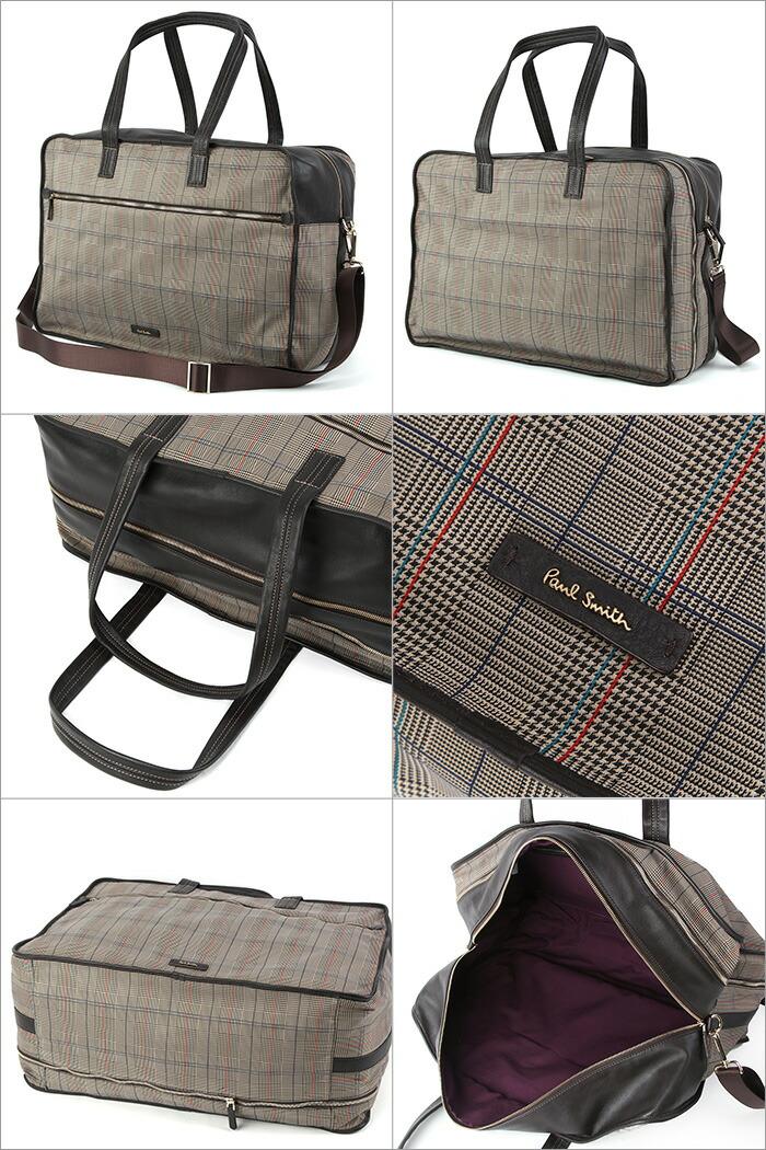 Paul Smith Grey Boston Shoulder Bag 110