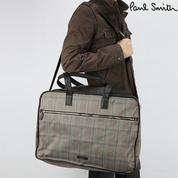 Paul Smith Grey Boston Shoulder Bag 108