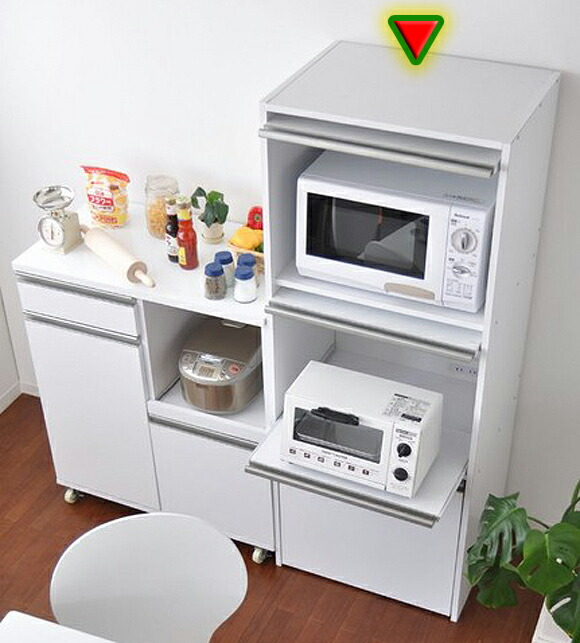 Ii Kaguyahime Rakuten Global Market Microwave Stand