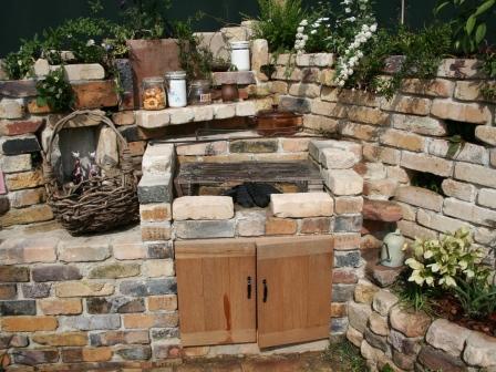 砖砌烧烤炉图纸