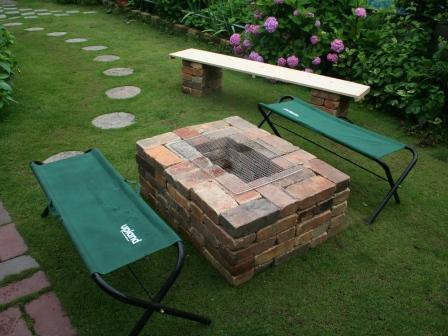 欧式砖砌烧烤窑图片