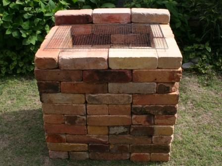 立式烧烤炉砖