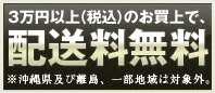 3万円以上のお買い上げで、配送料無料