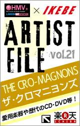 "IKEBE×HMV ARTIST FILE""ザ・クロマニヨンズ"""