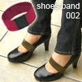 It comes off for plane shoes band shoes band ★ one pair, and the cheap shoes are easy to walk like shoes with a strap! Pumps ballet shoes ★ shipment possibility ★★ BAND2fs3gm