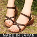 Fluffy Sandals aka elastic 6 cm heel is super comfortable プラットフォームコンフォート ★ 0248-friendly Shoe Studio Belle and Sofa original