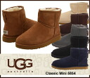 ▼ latest models in stock now down: UGG Australia UGG Classic Mini aguclassicmini Sheepskin short boots 5854 / s