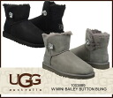 "▼1003889 latest model arrival ▼ UGG Australia ""Mini Bailey Button Bling"" アグオーストラリアミニベイリーボタンブリングアンクル length boots mouton mini-/s"