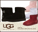 ▼ latest models in stock now down: UGG Australia W CLASSIC MINI CRYSTAL BOW Ugg Australia classic minicrystalbow Shearling boots 1003889 Shearling mini/s
