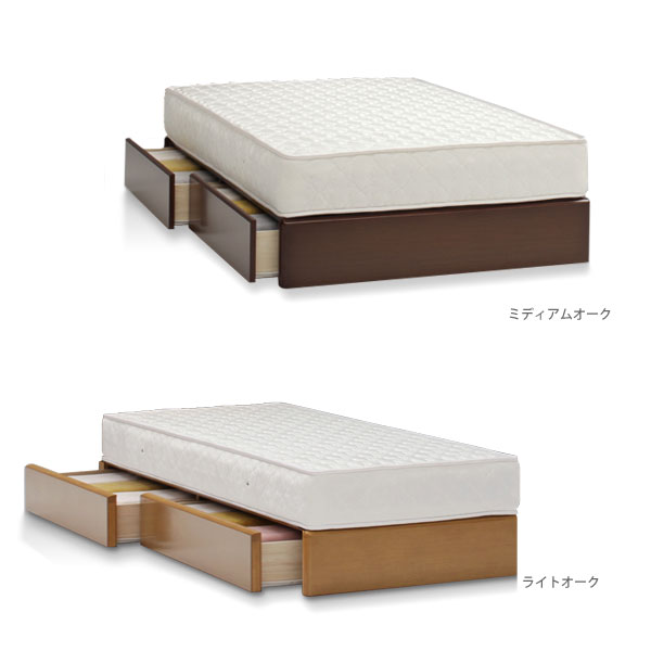 Ill rakuten global market bed frame double 2 box low for Floor bed frame