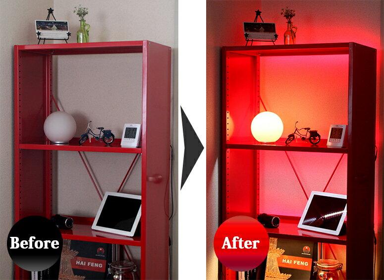 LEDテープライト 施工