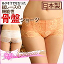 "Made in Japan of ""Fujiko エキゾチックブラ × aside meat catcher ' gorgeous line pelvic shape shorts sound or not and pelvic correctional / Hip Hing / shorts / race / rip up and pelvic support and compensation"