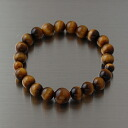 8 millimeters of tiger's eye bracelets coin smallish size bracelet