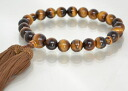 Rosary men's Tiger eye stone (tiger's-eye stone) 10P01Feb14