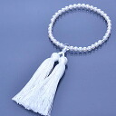 Rosary for women this Pearl white silk head Chamber 02P28oct13