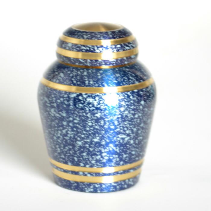 mini-funerary urn starlight blue