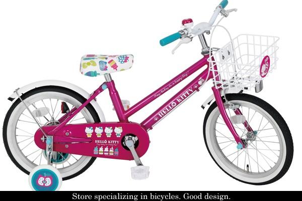 自転車の キティ 自転車 大人用 : 自転車 子供用自転車 16インチ ...