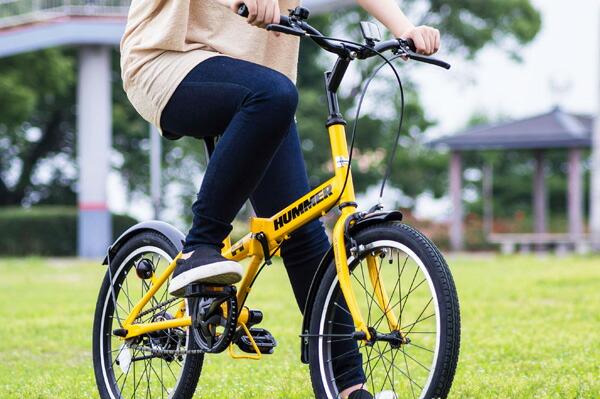 【送料無料】折りたたみ自転車 20インチ 軽量 自転車 折り畳み自転車 HUMMER ハマー FDB20R MG-HM20R 【送料無料】折りたたみ自転車  折畳自転車 自転車 通販 街乗り 通勤通学に