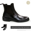 BCR brand business shoes men shoes rain boots pullover boots