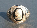 Real thing vintage college ring made in JOSTENS( Justin's) 1953
