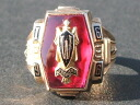 Real thing vintage college ring made in HERFF JONES( half Johns) 1966