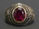Upsala College (University of Uppsala) 1953-real vintage College ring 10 K (K10 gold)
