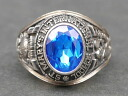 JOSTENS (Justin is manufactured) St.Mary's International School (セントメリーズインターナショナルスクール) 1979-real vintage College ring 10 K (K10 gold white gold)