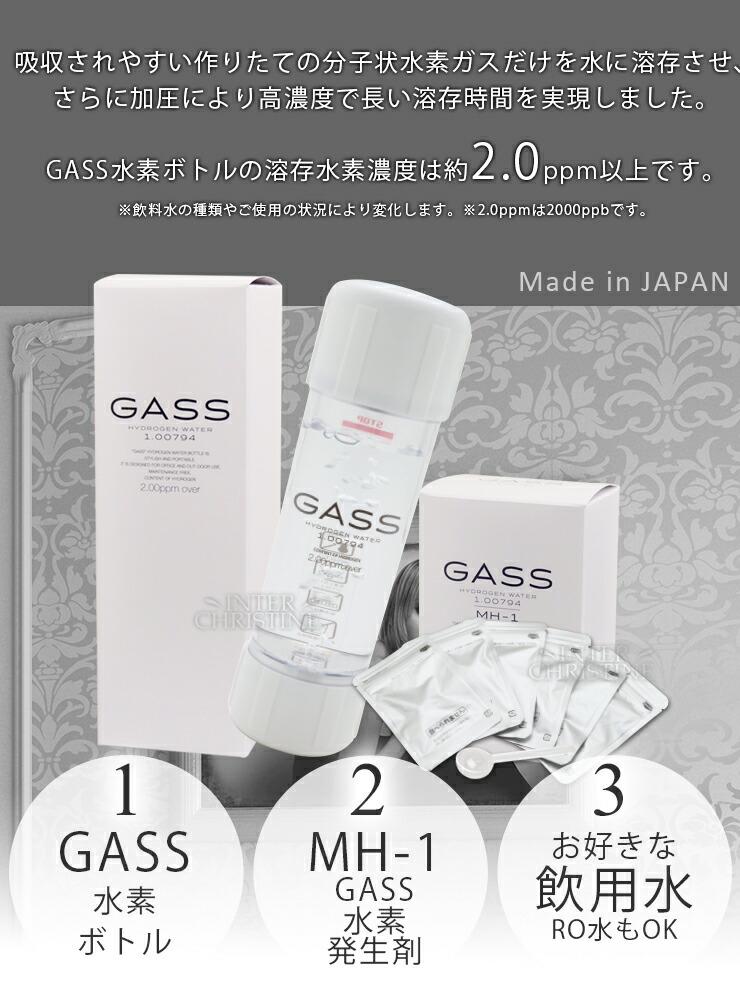 GASS水素水ボトル