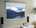 To roll screen projector screen width 81 - 120cmX 281-300cm in height