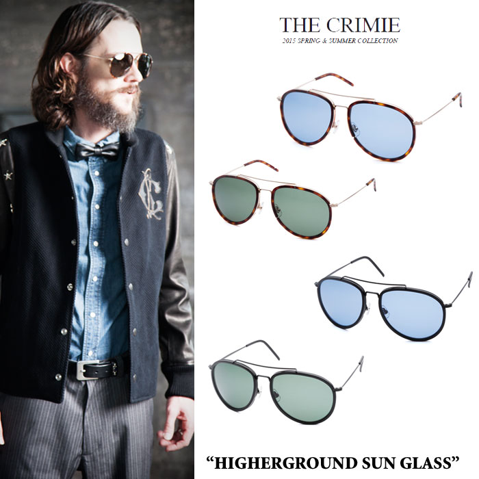 CRIMIE(���饤�ߡ�)HIGHERGROUND SUN GLASS������̵���ۡ�¨ȯ����ǽ�ۡ�CRIMIE ��...