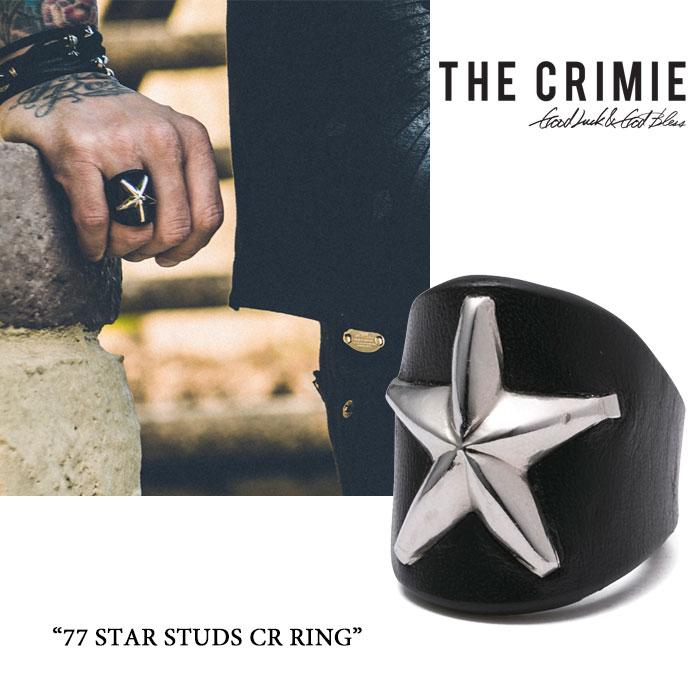 CRIMIE(クライミー)77 STAR STUDS CR RING【2016A/W新入荷】【送料無料】【即発送...