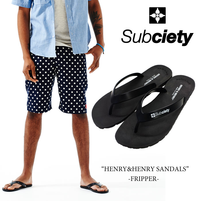 SUBCIETY(���֥����ƥ�)HENRY&HENRY SANDALS��FRIPPER�ɡ�2016SUMMER����ۡ�¨...