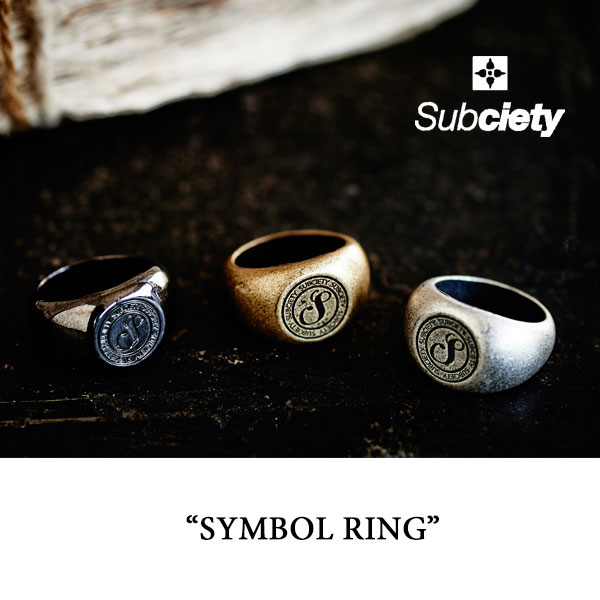 SUBCIETY(サブサエティ)SYMBOL RING【2016SUMMER新作】【即発送可能】【SUBCIETY ...