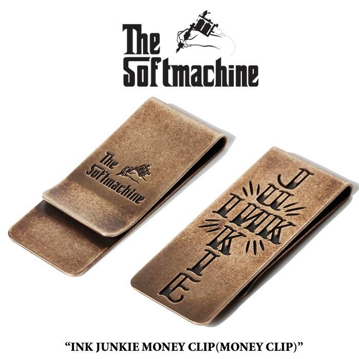 SOFTMACHINE(���եȥޥ�����)INK JUNKIE MONEY CLIP��2016 SPRING/SUMMER�ۡڥޥ�...