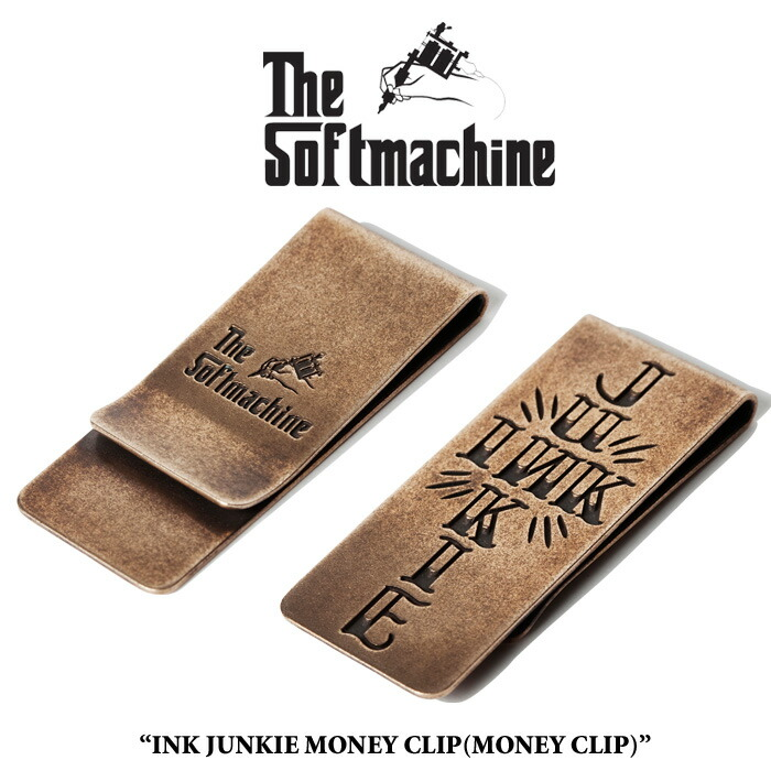 SOFTMACHINE(���եȥޥ�����)INK JUNKIE MONEY CLIP��2016 SPRING/SUMMER�ۡڥޥ�...