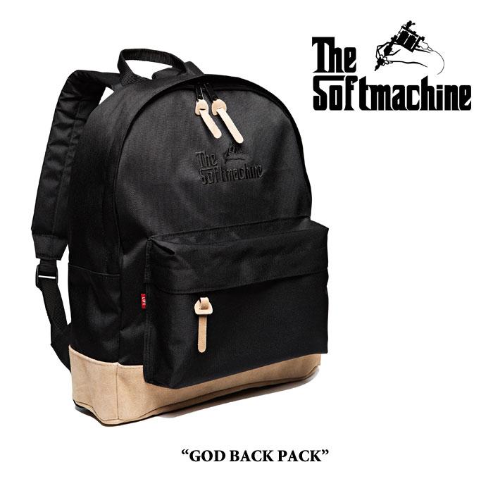SOFTMACHINE(ソフトマシーン)GOD BACK PACK(BACK PACK)【即発送可能】【送料無料】...