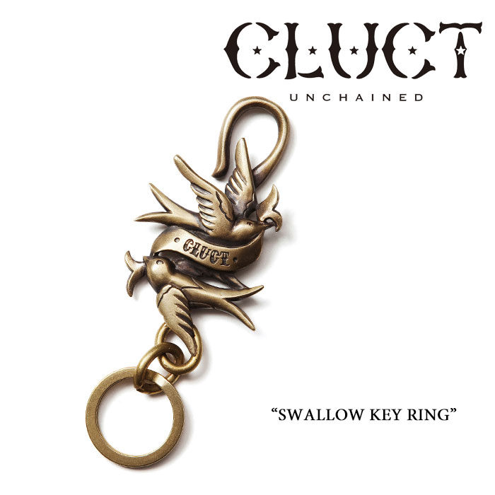 CLUCT(���饯��)SWALLOW KEY RING��REVIVAL ACCESSORIES�ۡ�¨ȯ����ǽ�ۡ�CLUCT ...