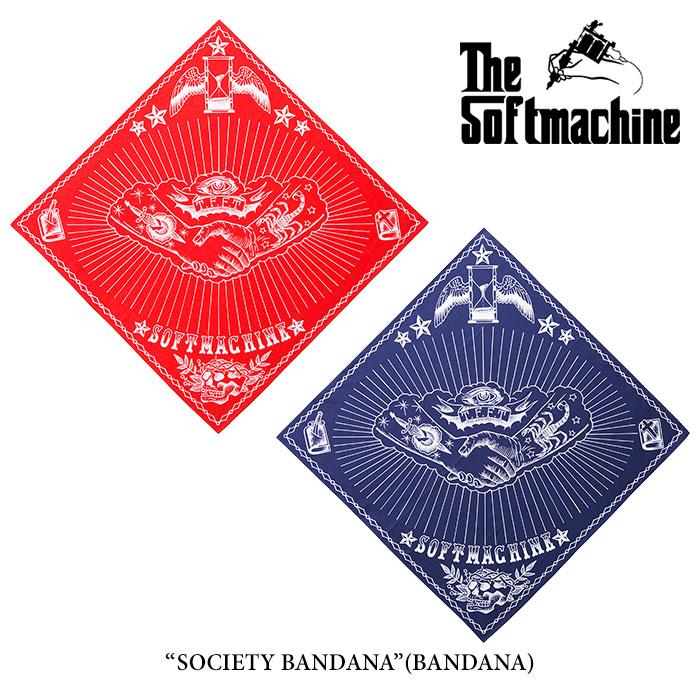 SOFTMACHINE(ソフトマシーン)SOCIETY BANDANA(BANDANA)【2016 AUTUMN&WINTER新...