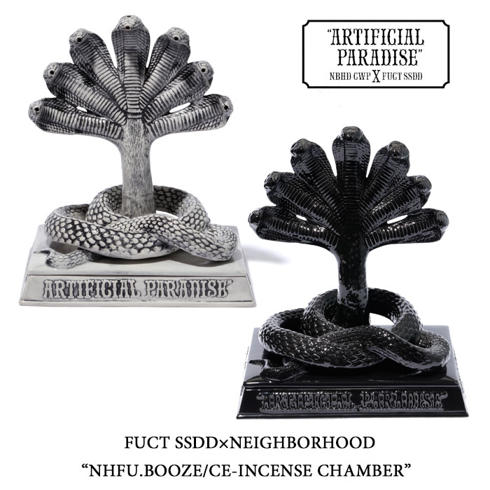 FUCT SSDD×NEIGHBORHOODNHFU.BOOZE/CE-INCENSE CHAMBER【FUCT SSDD×NEIGHBORHOOD ...