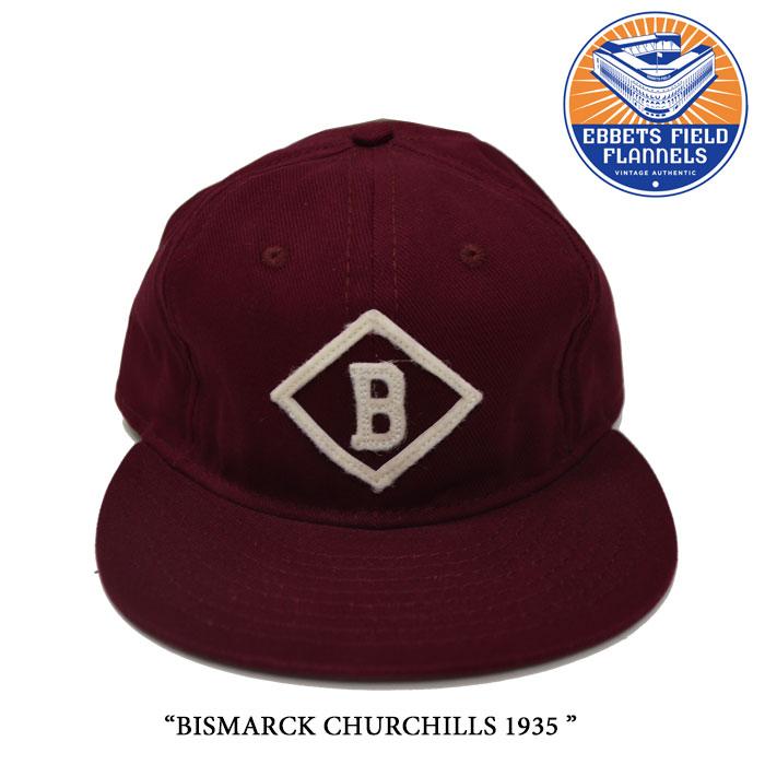 EBBETS FIELD FLANNELS(エベッツフィールドフランネルズ)BISMARCK CHURCHILLS 1935...