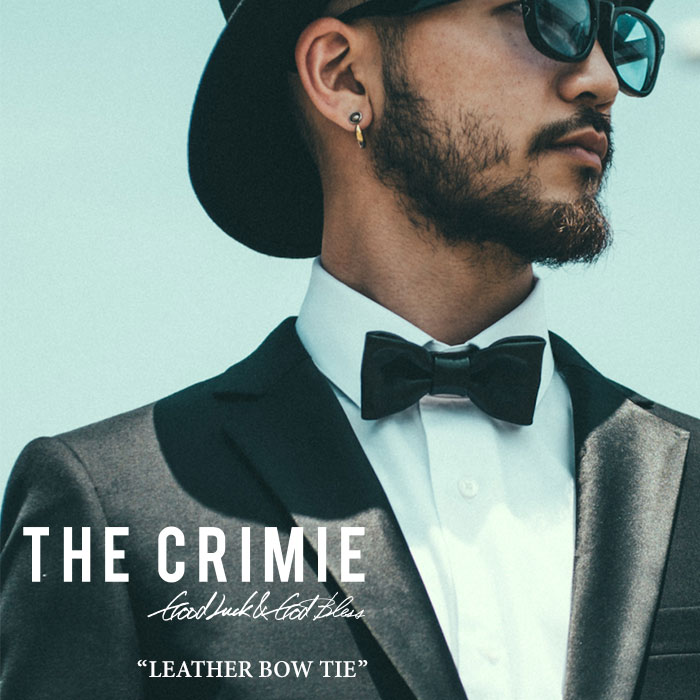 CRIMIE(クライミー)CR LEATHER BOW TIE【2017SPRING/SUMMER新作】【送料無料】【即...
