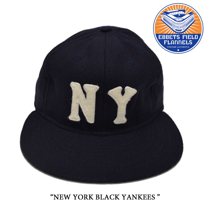 EBBETS FIELD FLANNELS(エベッツフィールドフランネルズ)NEW YORK BLACK YANKEES 1...