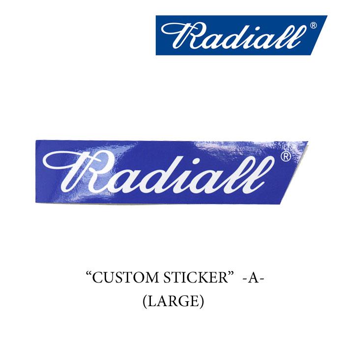 "RADIALL(ラディアル)CUSTOM STICKERS ""A""-LARGE- (ステッカー)【RADIALL ステッカ..."