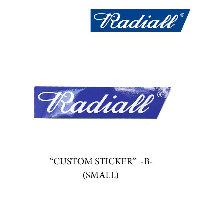 "RADIALL(ラディアル)CUSTOM STICKERS ""B""-SMALL- (ステッカー)【RADIALL ステッカ..."