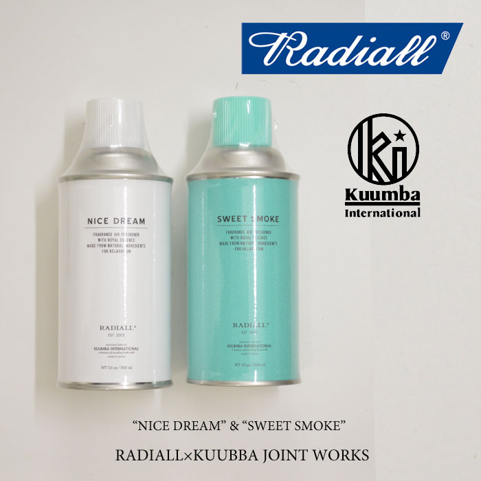 RADIALL(��ǥ�����)SWEET SMOKE SPRAY air freshner spray(�����ե�å���ʡ����ץ졼)��2016 AUTUMN&WINTER�ۡ�RADIALL �����ե�å���ʡ����ץ졼�ۡ�RAD-16SS-JW004�ۡ�RADIALL ������갷��Ź��