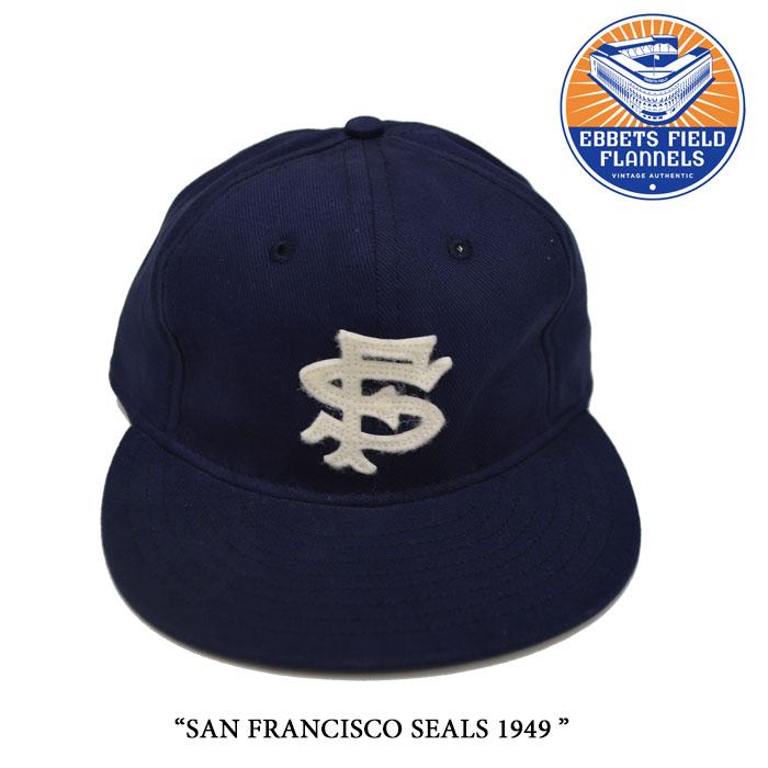 EBBETS FIELD FLANNELS(エベッツフィールドフランネルズ)SAN FRANCISCO SEALS 1949...